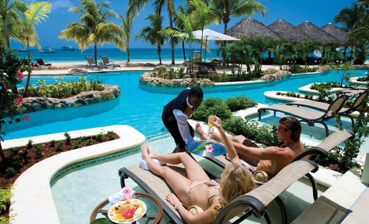 Romantiska atpūta Karību salās